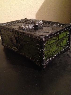 Heart of Frankenstein Jewelry Box