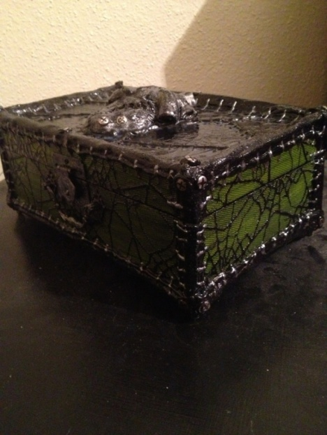 Heart of Frankenstein Jewelry Box