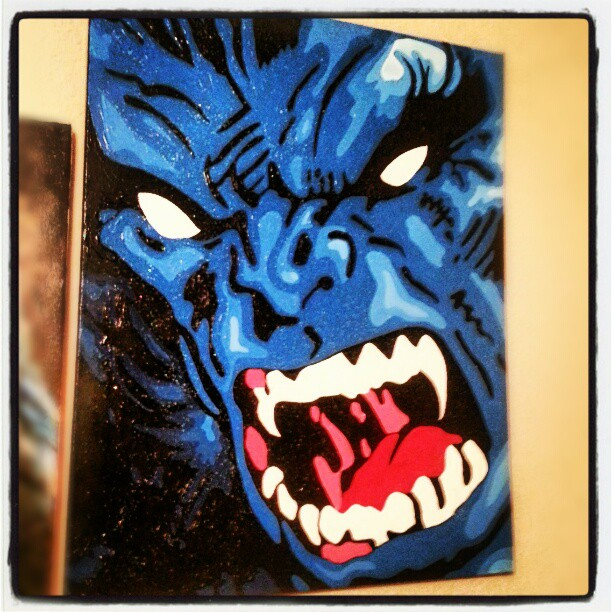 Beast Painting