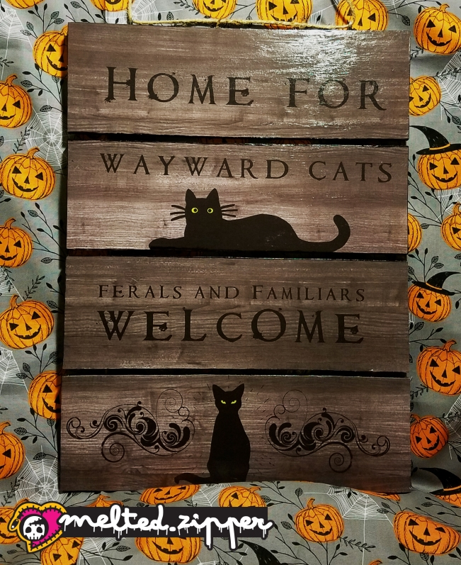 Home for wayward cats.