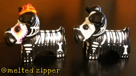 Skeleton Dogs Side View B
