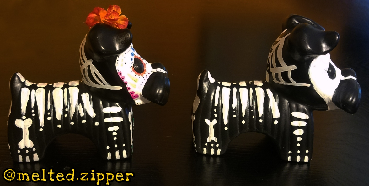 Skeleton Dogs Side View A